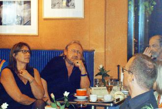 Georg Stein vom Palmyra-Verlag